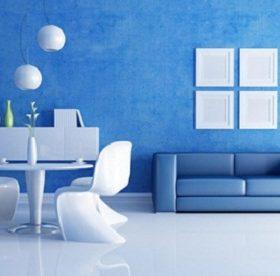 Mẹo sử dụng gạch ốp tường màu xanh dương ĐẸP – CHUẨN PHONG THỦY nhất