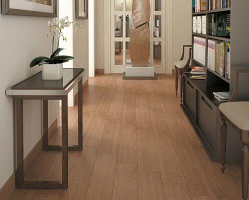 Gạch giả gỗ được đánh giá cao hơn về chất lượng
