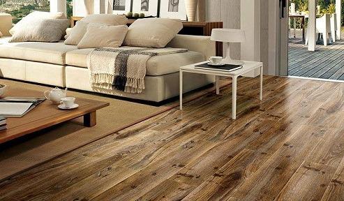 Gạch giả gỗ với đa dạng kích thước phù hợp cho nhiều không gian với diện tích khác nhau