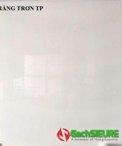 Đá bóng kiếng 100×100 trắng trơn trung quốc