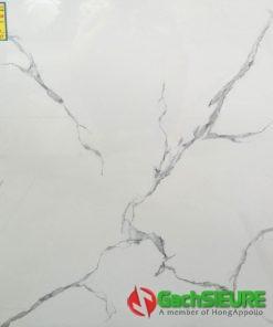 Đá bóng kiếng 60×60 trắng vân mây cao cấp