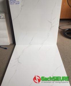 Gạch 60×60 cmc bóng kiếng trắng vân mây giá rẻ