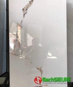 Gạch bóng kiếng 60×120 ấn độ trắng sứ vân vàng mẫu mới