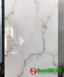 Gạch ốp lát cao cấp 60×120 ấn độ trắng sứ vân mây quận 7
