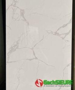 Gạch 60×120 bóng kiếng trắng vân mây giảm giá sale