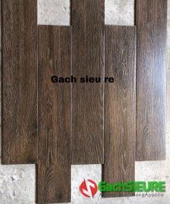 Gạch lát nền giả gỗ 15×80 trung quốc