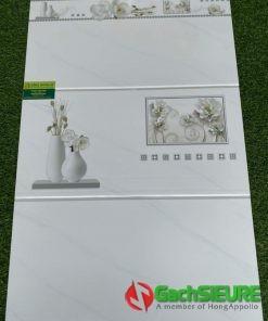 Gạch 30×60 ốp tường trắng vân mây đẹp giảm giá sale