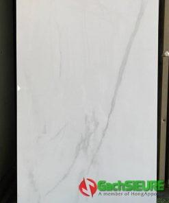 Gạch 60×120 bóng kiếng trắng vân ấn độ cao cấp