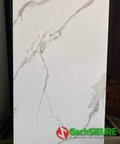 Gạch 60×120 bóng kiếng trắng vân mây cao cấp giảm giá