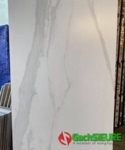 Gạch 60×120 đá mờ trắng vân xám đẹp