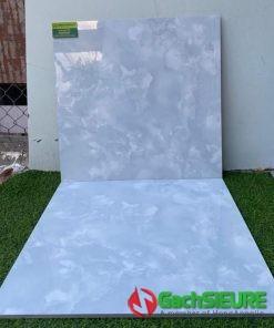 Gạch 60×60 màu xanh bóng kiếng đẹp sale giảm giá