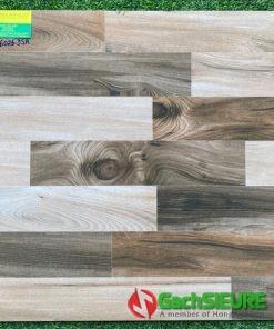 Gạch bóng kiếng vân giả gỗ 60×60 siêu bóng kiếng cao cấp