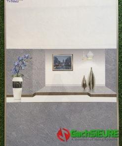Gạch dán tường 30×60 trắng xám nâu vân xước đẹp