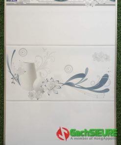 Gạch dán tường ngang 30×60 màu trắng đẹp giá rẻ