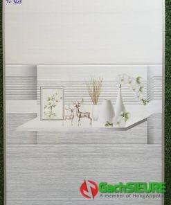 Gạch dán tường ngang 30×60 màu xám đẹp giá rẻ