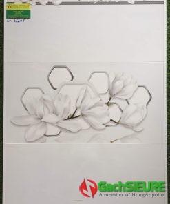 Gạch dán tường vicenza 30×60 vân trắng xanh đẹp