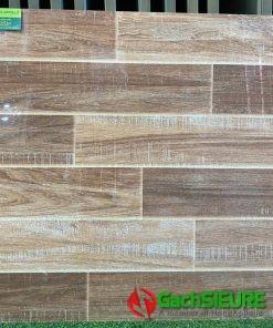 Gạch giả gỗ siêu bóng kiếng 80×80 lát nền đẹp