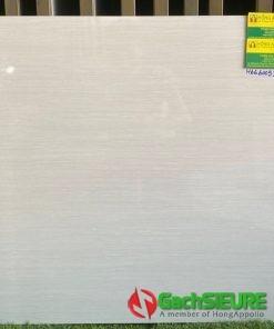 Gạch lót sàn giả gỗ màu trắng 60×60 bóng kiếng