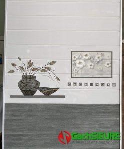 Gạch ốp tường giả gỗ 30×60 màu nâu xám trắng đẹp
