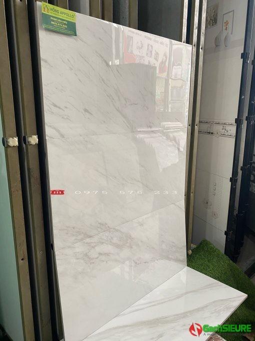 Gạch 30×60 bóng kiếng trắng vân mây giảm giá rẻ gạch rẻ bình chánh