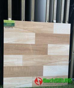 Gạch Bóng Kiếng 60×60 Giả Gỗ Hiện Đại Sang Trọng