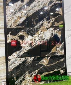 Gạch Bóng Kiếng Ấn Độ 60×120 Đá Marble Tự Nhiên