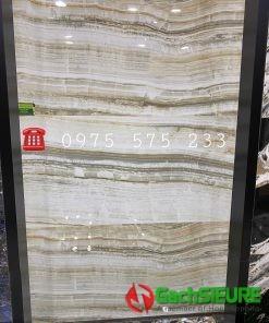 Gạch Bóng Kiếng Nhập Khẩu Đá Marble Vân Sóng 60×120
