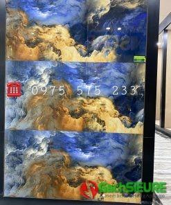 Gạch Bóng Kiếng 60×120 Mây Xanh