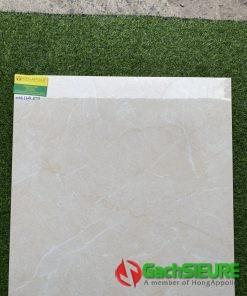 Gạch Ốp Lát 600×600 Bóng Kiếng Đá Marble Nâu Vàng