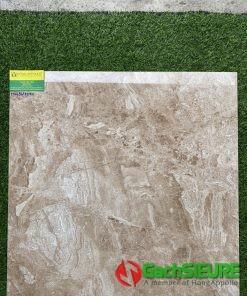 Gạch Ốp Lát Bóng Kiếng Nâu Có Vân Tự Nhiên 60×60