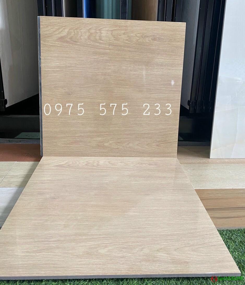 Gạch 60x60 giả gỗ lát nền siêu bóng kiếng loại 1 sale giảm giá tốt