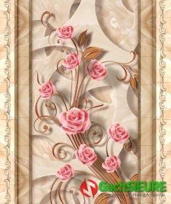 Gạch thảm hoa hồng lát nền sàn nhà đẹp nổi bật 46