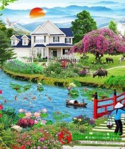 Mẫu gạch tranh 3d phong cảnh được nhiều người chọn mua nhiều nhất 182