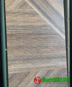 Gạch giả gỗ mờ 60×120 vân xương cá lát nền trang trí cao cấp