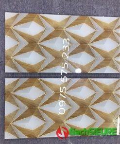 Đại lý bán gạch trang trí 30×60 nhũ vàng khắc kim tuyến mẫu đẹp mới nhất