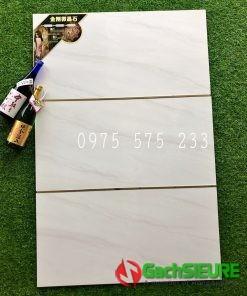 Gạch 40×80 trắng vân khói bóng trung quốc chính hãng chất lượng
