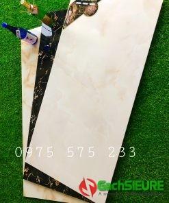 Gạch 60×120 granite vân kem bóng kiếng tại tphcm