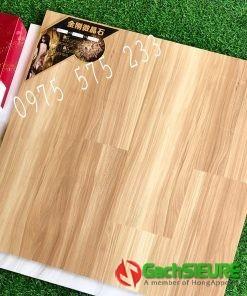 Gạch 80×80 lát nền bóng kiếng giả gỗ nhập khẩu cao cấp
