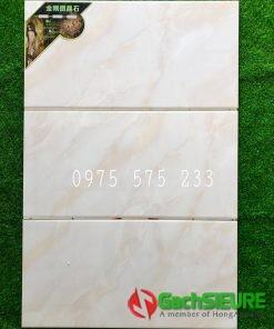 Gạch dán tường 40×80 màu vân đá kem trung quốc bền đẹp