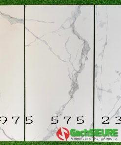 Gạch mờ nhám chống trơn 60×120 trắng vân khói ngẫu nhiên cao cấp bình chánh