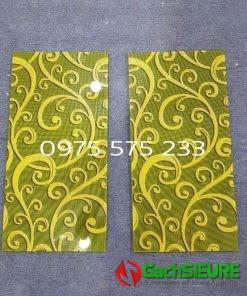 Gạch ốp lát 30×60 trang trí vàng khắc kim tuyến nổi bật cao cấp
