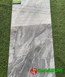 Gạch ốp tường 40×80 khắc kim vân đá sang trọng cao cấp