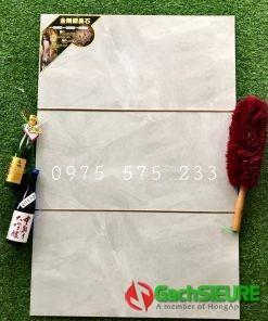 Gạch ốp tường 40×80 xám bóng chất lượng bền đẹp cao cấp