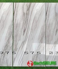 Gạch trung quốc 60×120 khắc ánh bạc nhũ vân xám siêu bóng cao cấp