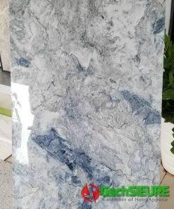 Gạch vân xanh 60×120 đá đồng chất khắc kim siêu bóng cao cấp đẹp