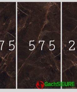 Kho gạch ấn độ 120×240 vân đá nâu siêu bóng cao cấp tại bình chánh