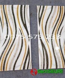 Kho gạch trang trí 30×60 siêu bóng nhũ vàng khắc kim tuyến cao cấp