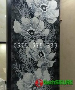 Gạch ấn độ 60×120 bông hoa trang trí đẹp cao cấp