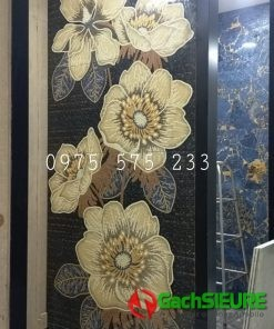 Gạch bông hoa trang trí 600×1200 ấn độ sang trọng