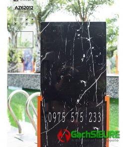 Gạch india ấn độ 60×120 đen vân siêu bóng 12